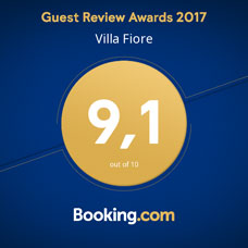 Booking.com Award Villa Fiore